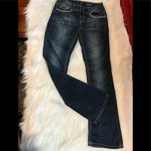 """Vanilla Star Girls Jeans Size 14 Inseam 27"""""""
